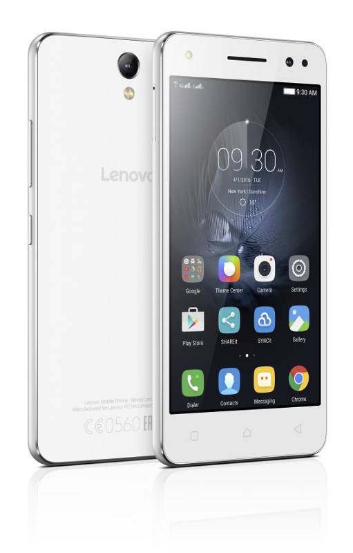 "Lenovo Smartphone Vibe S1 Lite Dual SIM/5,0"" IPS/1920x1080/Octa-Core/1,3GHz/2GB/16GB/13Mpx/LTE/Android 5.1/White"