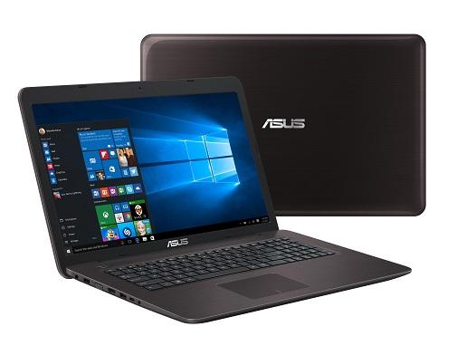 ASUS NB F756UB i7-6500U/8GB/2TB+16GB/17.3 FHD AG/DVD/GT940M 2G/W10 Brown