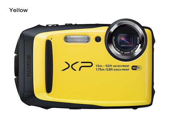 Fujifilm FinePix XP90 - 16,4 MP, 5x zoom CST - Yellow