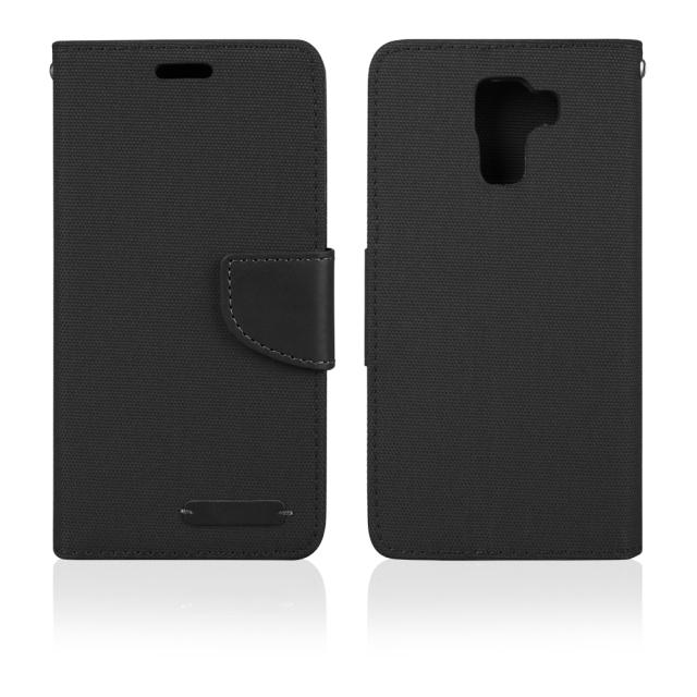 Pouzdro BOOK FANCY PRO Samsung G530 black