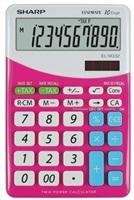 SHARP kalkulačka - EL-M332BPK - růžová