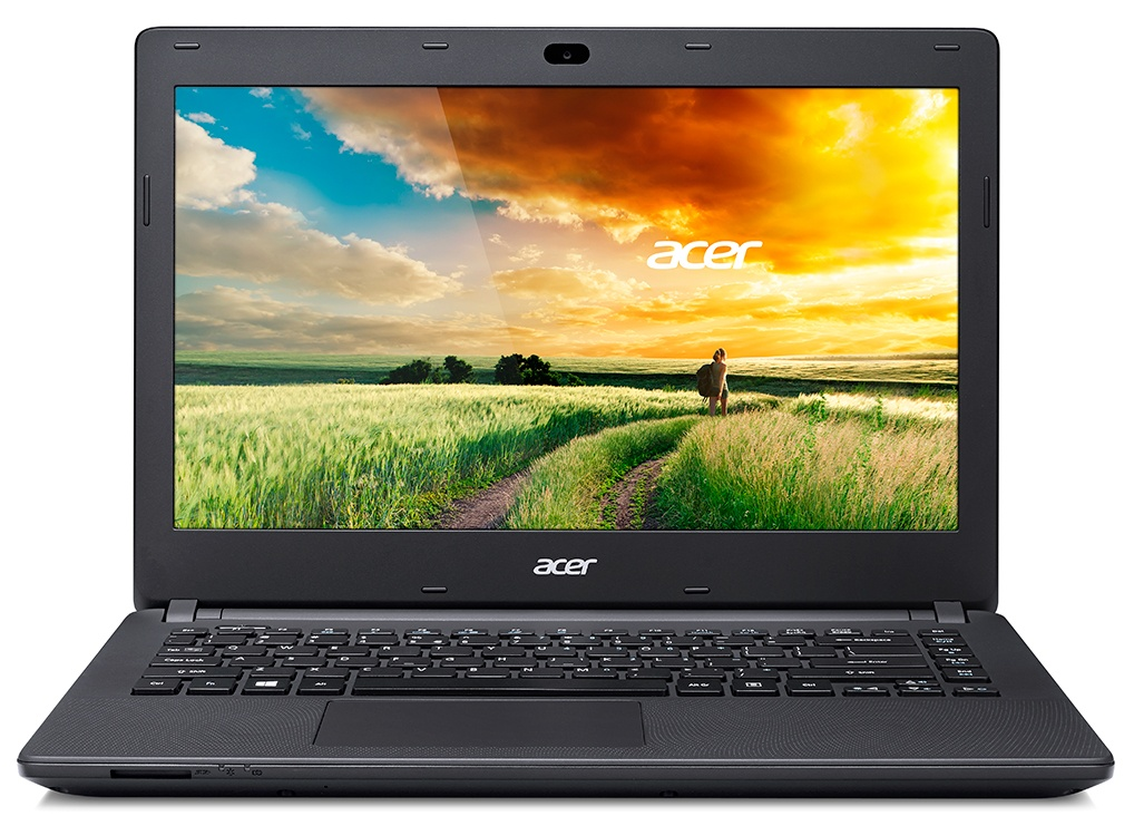 "Acer Aspire ES 14 (ES1-431-C7LG) Celeron N3050/4GB+0/eMMC 32GB+0/14.0"" HD Acer CineCrystal LCD lesklý/HD Graphics/W10 Home/Black"