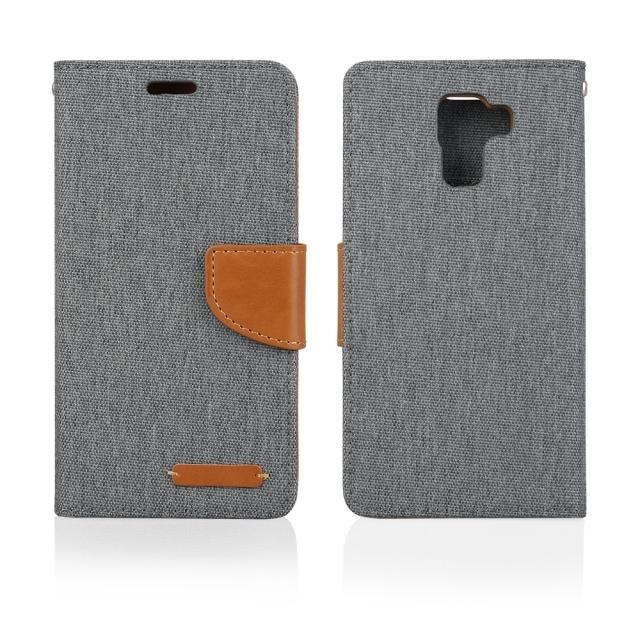Pouzdro BOOK FANCY PRO Samsung G530 grey