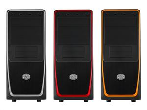 CoolerMaster case miditower Elite 311,ATX,black-silver, bez zdroje
