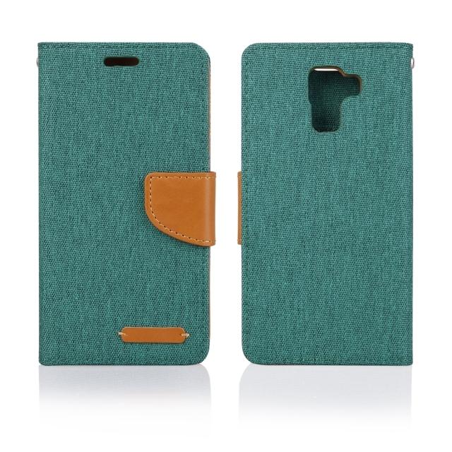 Pouzdro BOOK FANCY PRO Samsung G530 green
