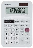 SHARP kalkulačka - EL-330FB - bílá
