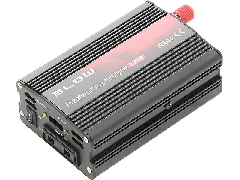 BLOW mini měnič napětí 12V/230V 300W