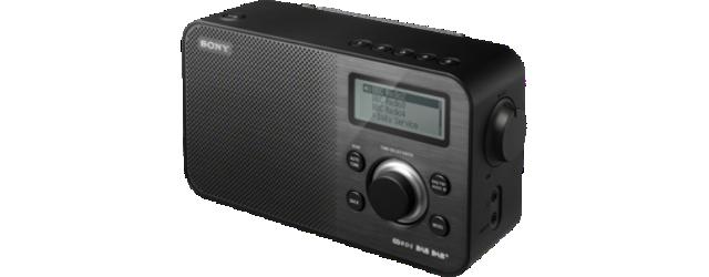 Sony radiopřijímač XDR-S60DBP DAB tuner černý