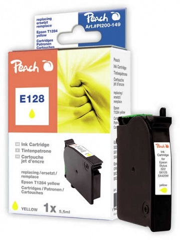 PEACH kompatibilní cartridge Epson T1284, Yellow, 11,5 ml