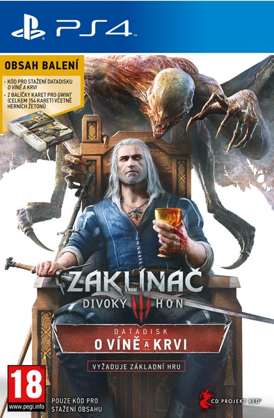 PS4 - Zaklinac 3: Divoky Hon - O víně a krvi (The Witcher 3: Wild Hunt - Blood and Wine)