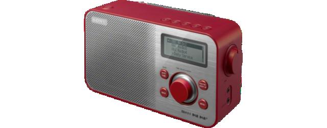 SONY XDR-S60DBP Digitální rádio DAB+/DAB/FM - RED