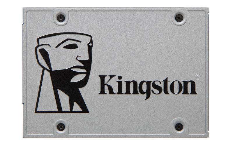 Kingston Flash 120GB SSDNow UV400 SATA 3 2.5 (7mm height) w/Adapter