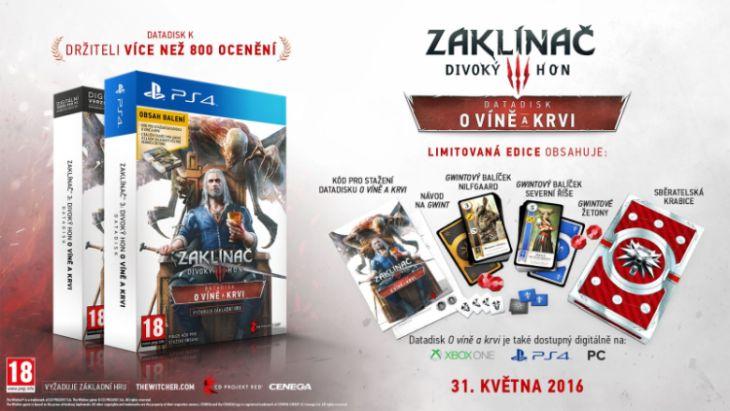 CD Projekt PS4 Zaklínač 3: Divoký hon - O víně a krvi