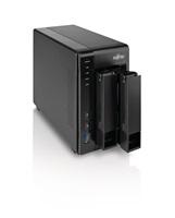 FUJITSU NAS Celvin server QE705 - bez HDD - max. 2 HDD SATA (včetně rámů) 512MB, 512 MB Flash