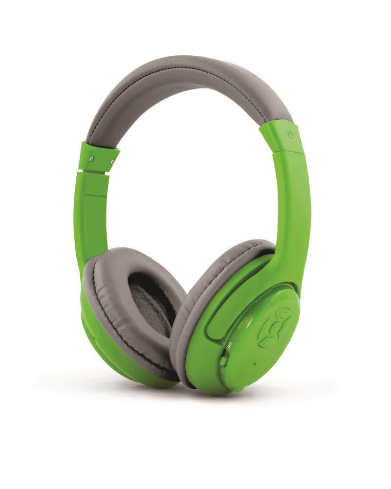 Esperanza EH163G LIBERO Bezdrátová Bluetooth 3.0 stereo sluchátka, zelená