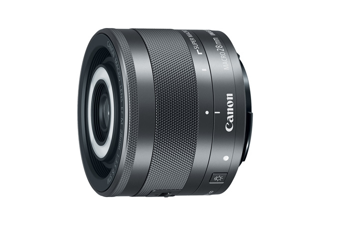 Canon EF-M 28mm f/3,5 Macro IS STM - Novinka