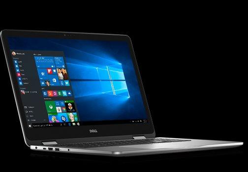 "Dell Inspiron 17z 7778 17"" FHD Touch i7-6500U/16G/512SSD/940MX-2G/MCR/HDMI/USB/W10/2RNBD/Šedý"