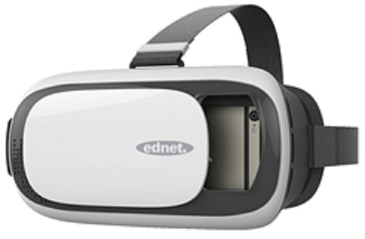 EDNET Virtual Reality 3D/VR Glasses for Smartphones from 4.7'' to 6.0''