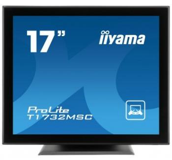 Iiyama LCD T1732MSC-B1X 17'' LED dotykový, 5ms, VGA/DVI, USB, repro, 1280x1024,č