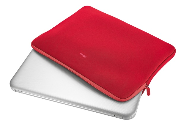 "TRUST Pouzdro na notebook 15.6"" Primo Soft Sleeve for laptops - red"