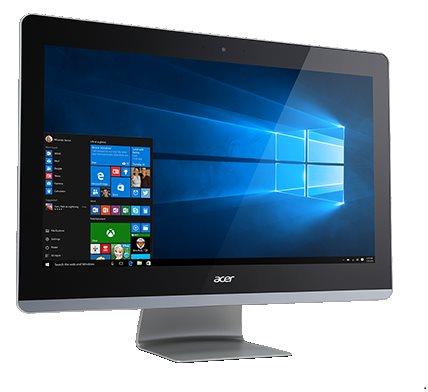 """Acer Aspire AZ3-705 ALL-IN-ONE 21,5"""" LED/PMD3805U/4GB/1TB/DVDRW/802.11 b/g/n/BT/USB/W10 Home"""