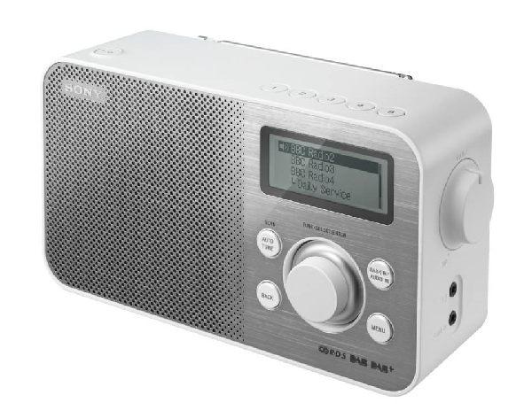 SONY XDR-S60DBP Digitální rádio DAB+/DAB/FM - WHITE