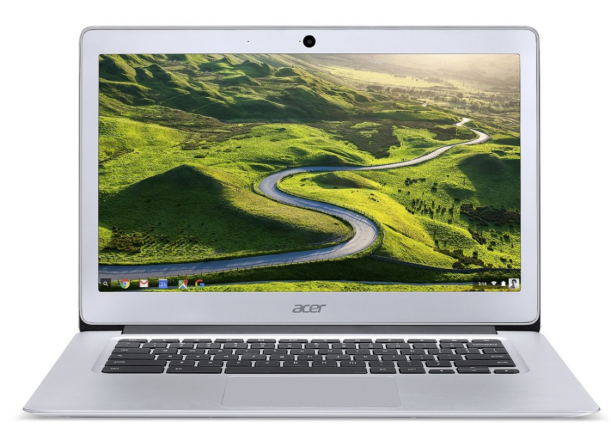 "Acer Chromebook 14 (CB3-431-C51Q) Celeron N3160/4GB+N/A/eMMC 32GB+N/A/HD Graphics/14"" HD matný/Google Chrome/Silver"