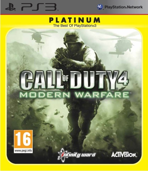 PS3 - Call of Duty: Modern Warfare Platinum