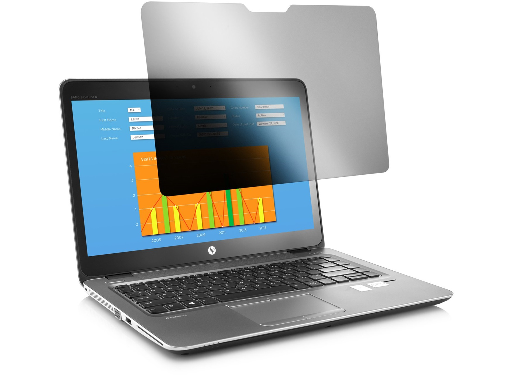 HP 15.6 NB Privacy Filter