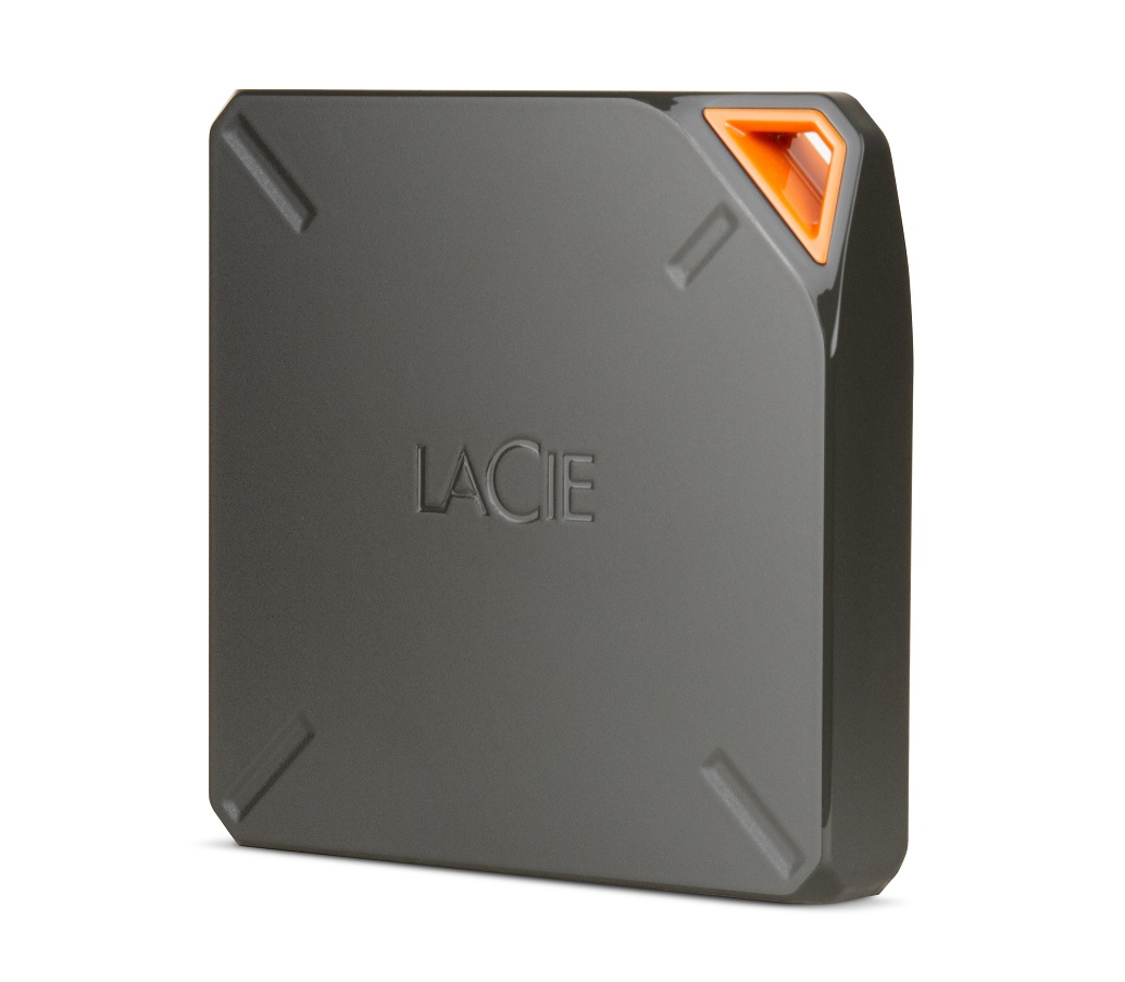 LaCie disk Fuel, 1 TB, Wi-Fi