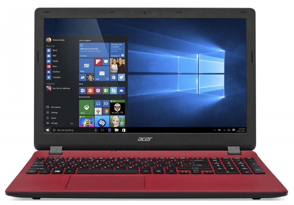 "ACER NTB Aspire E15 (ES1-571-C9JK) -Cel. 2957U@1.4GHz,15.6"" FHD mat,4G,500GB,čt.pk,DVD,HD 5500,3čl,HD cam, W10, červený"