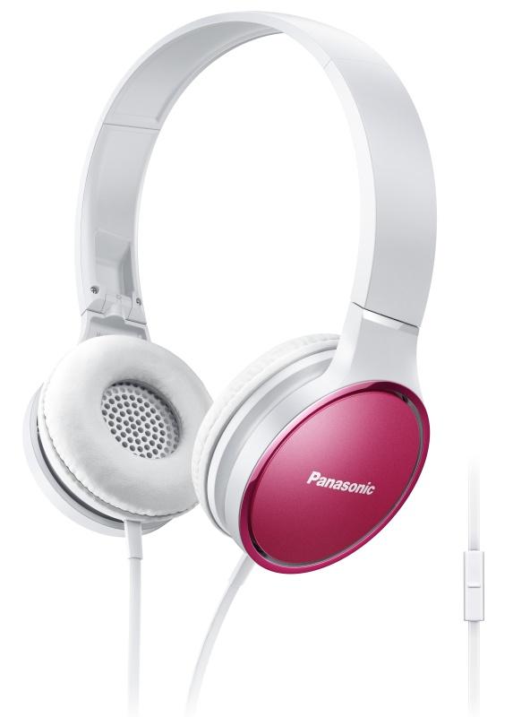 Panasonic RP-HF300ME-P, mikrofon, růžová