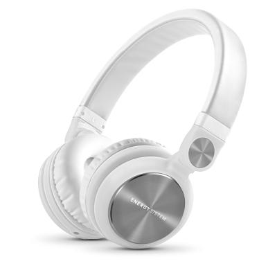 ENERGY DJ2 White Mic, stylová DJ sluchátka, skládatelná, otočná, mikrofon ,odnímatelný kabel, 108 dB,3,5mm