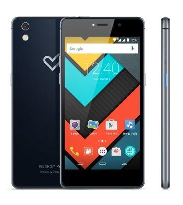 "ENERGY Phone Pro 4G Navy (Octa Core A53 1,5GHz+GPU Adreno 405, 5"", 1920x1080px, 2GB RAM, 16GB, microSD, Gorilla Glass3)"