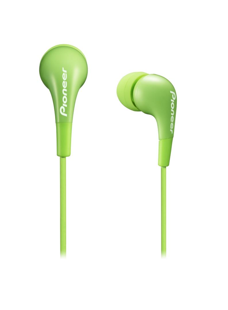 Pioneer špuntová sluchátka zelená