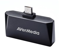 AVERMEDIA AVerTV Mobile Android-T2/ Externí/ Pro Tablety a Telefony/ Micro USB/ DVB-T/ Anténa