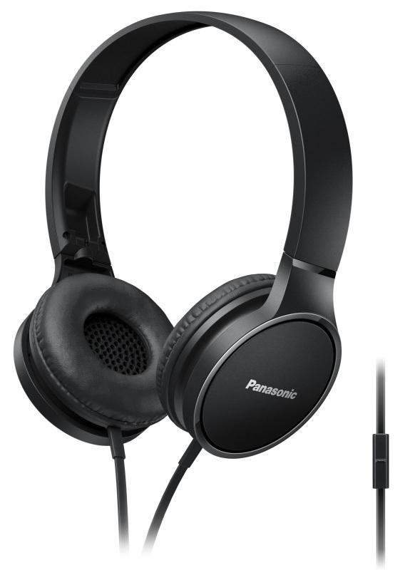 Panasonic RP-HF300ME-K, mikrofon, černá