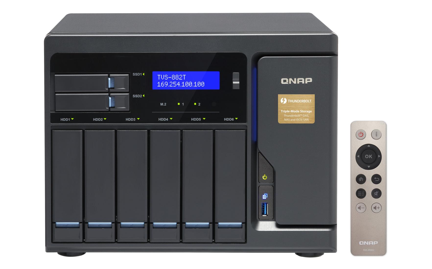QNAP TVS-882T-i5-16G (3,6G/16GB RAM/8xSATA)