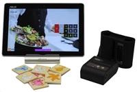 """EET CUBE 10 dotyková pokladna 10"""" ASUS zenPAD 10, stojánek, BT mobilní tiskárna, vč. prodejního SW Pexeso"""