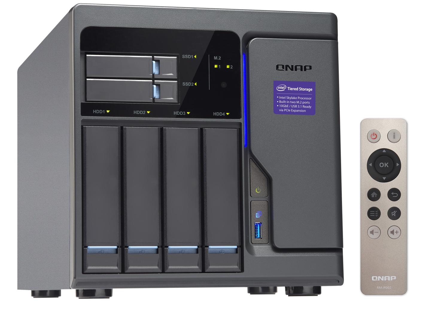 QNAP TVS-682-i3-8G (3,7G/8GB RAM/6xSATA/3xHDMI)