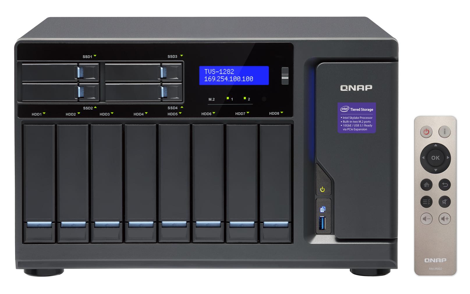 QNAP TVS-1282-i3-8G (3,7G/8GB RAM/12xSATA)