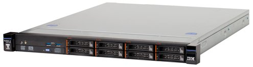 "System x TS x3250M6 Xeon E3-1220v5 4C 3.0GHz 8MB 2133MHz (80W), 8GB, 0GB 2,5"" HS(4), M1210, 1x460W"