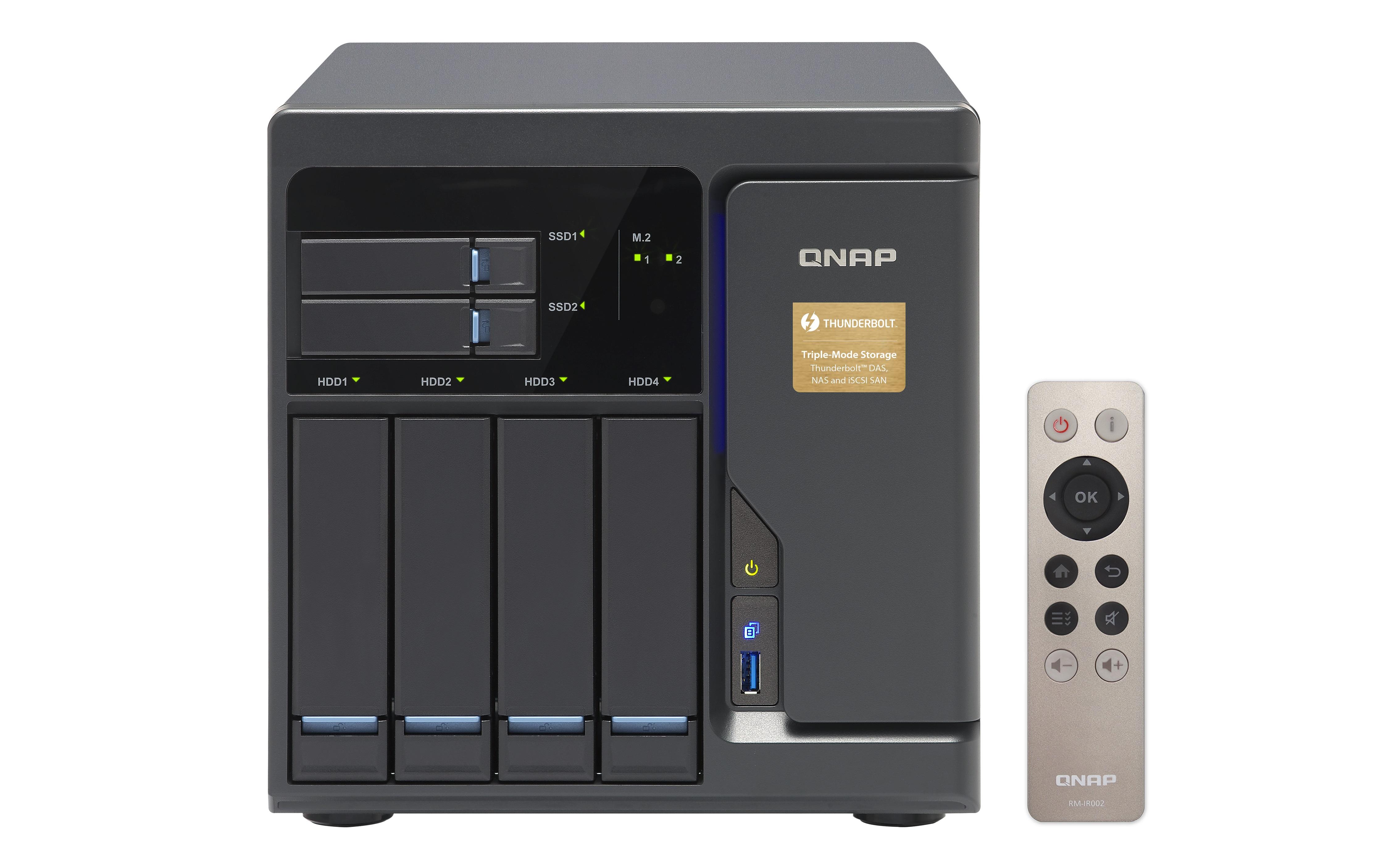 QNAP TVS-682T-i3-8G (3,7G/8GB RAM/6xSATA)