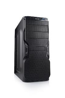 LOGIC PC skříň A34 Midi Tower, zdroj LOGIC 400W ATX PFC, USB 3.0