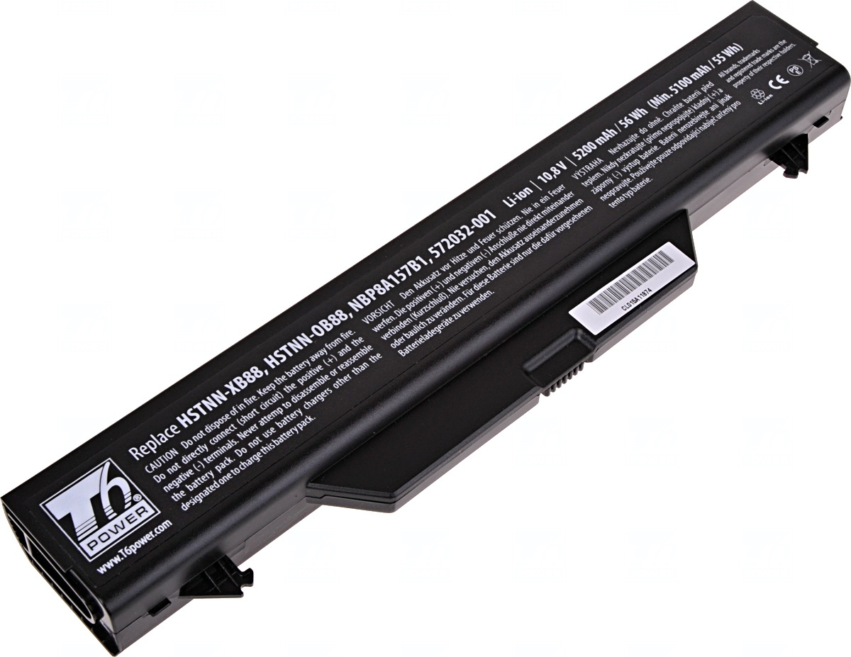 Baterie T6 power HP ProBook 4510s, 4515s, 4710s, 6cell, 5200mAh