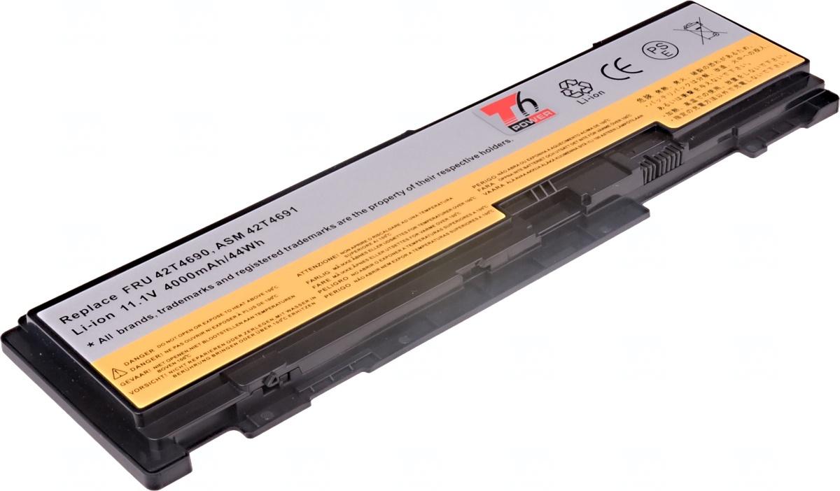Baterie T6 power Lenovo ThinkPad T400s, T410s, 6cell, 4000mAh