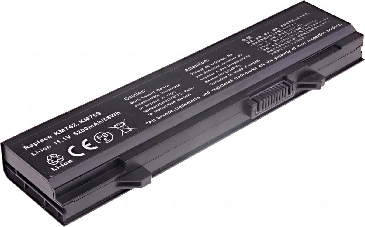 Baterie T6 power Dell Latitude E5400, E5410, E5500, E5510, 6cell, 5200mAh