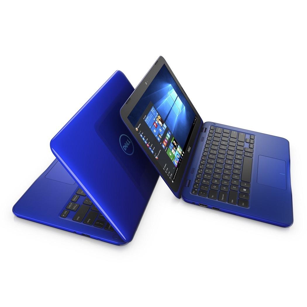 """Dell Inspiron 3162 11"""" HD N3700/4G/500GB/HD/MCR/HDMI/USB/W10/2RNBD/Červený"""
