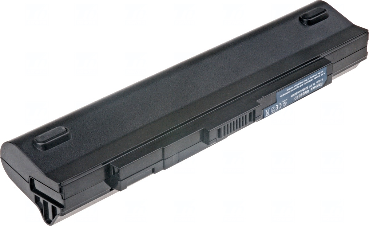 Baterie T6 power Acer Aspire One 531h, 751h, 6cell, 5200mAh, black