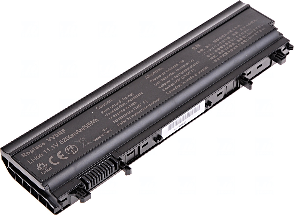 Baterie T6 power Dell Latitude E5440, E5540, 6cell, 5200mAh